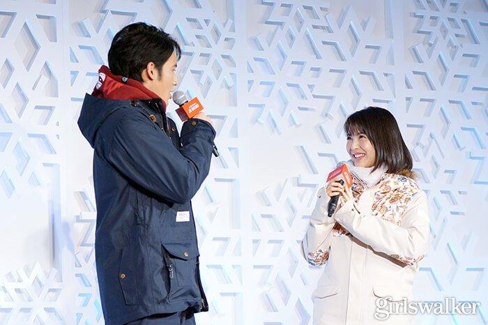 2019_JRSKISKI_スノボウェア_浜辺美波・岡田健史01