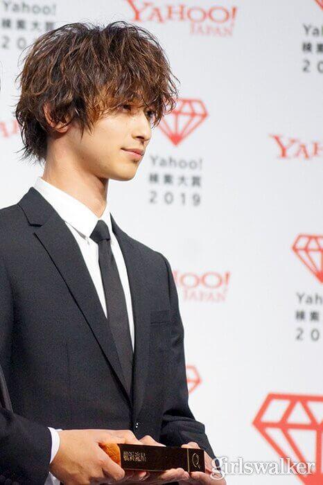 Yahoo!検索大賞2019_横浜流星07_トロフィー