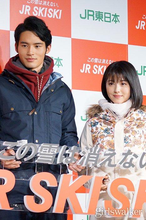 2019_JRSKISKI_スノボウェア_浜辺美波・岡田健史03