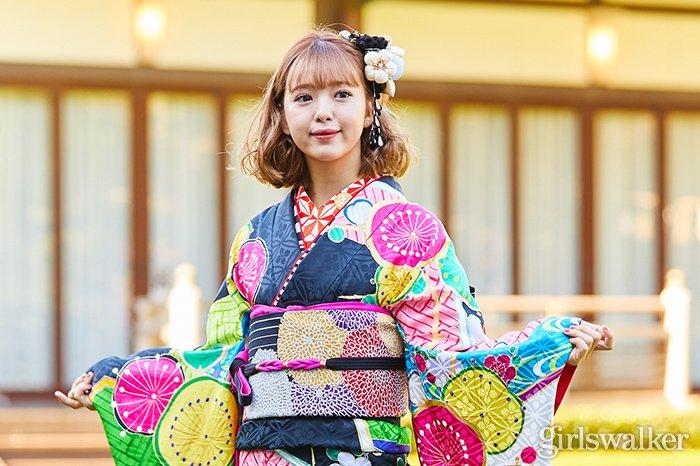 オスカー晴れ着撮影会2019_着物_藤田ニコル01