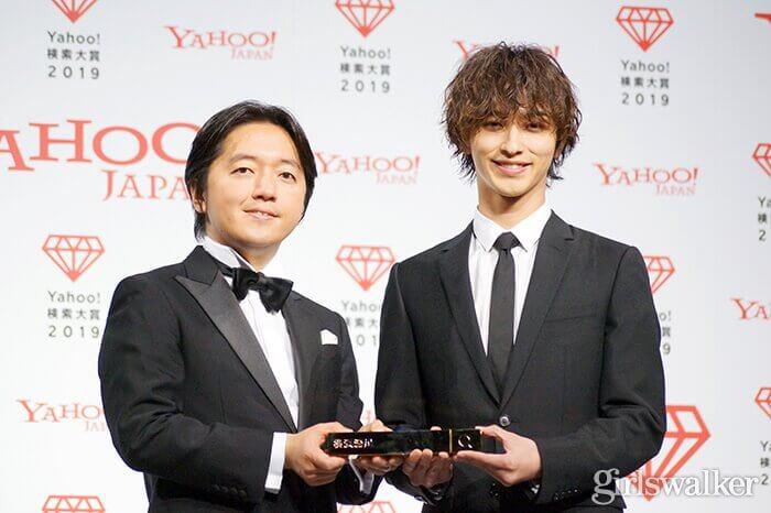 Yahoo!検索大賞2019大賞_横浜流星_トロフィー02