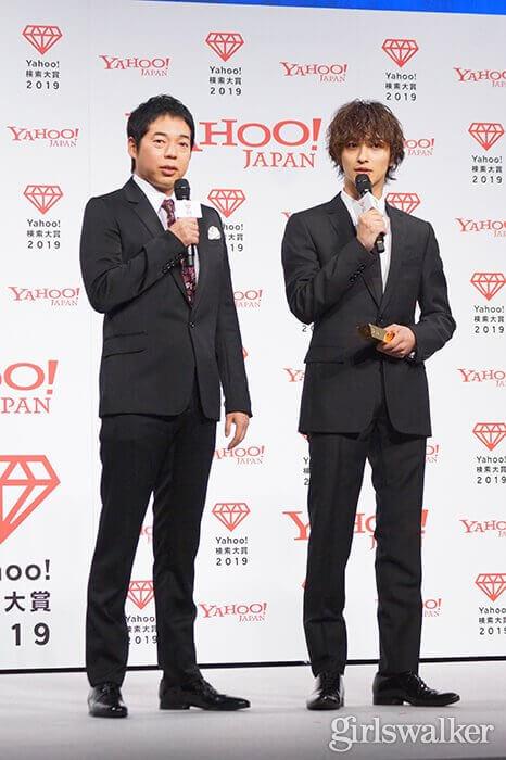 Yahoo!検索大賞2019_大賞_横浜流星・今田耕司01