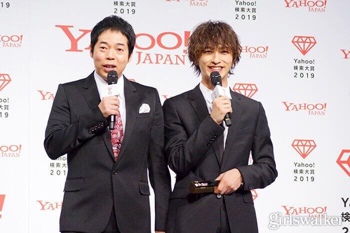 Yahoo!検索大賞2019大賞_横浜流星・今田耕司01
