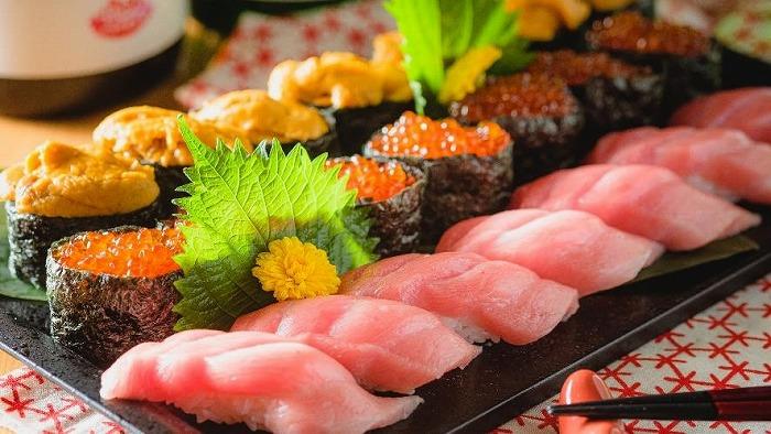中トロやウニの高級ネタも!大人気「お寿司食べ放題2,999円コース」がパワーアップ