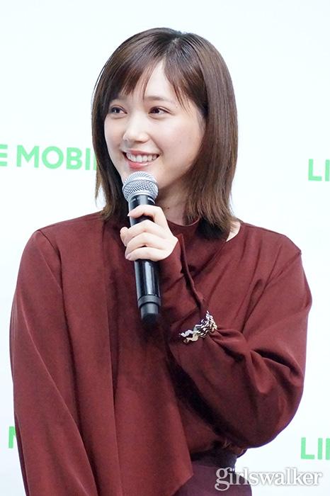 20200210_LINE MOBILE_本田翼07_かわいい_モデル_美女_女優