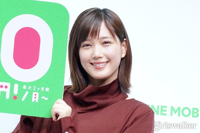 20200210_LINE MOBILE_本田翼20かわいい_モデル_美女_女優