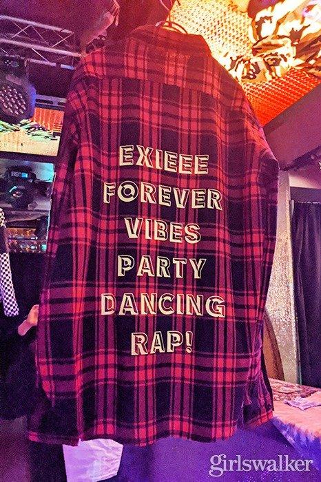 s-EXIEEEチェックシャツ