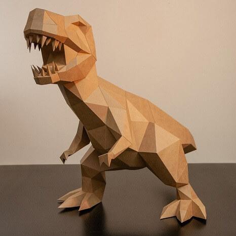 Ask Creative_恐竜_クラフトペーパー_おうち時間