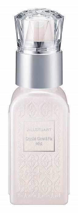 Crystal Glow & Fix Mist_ジルスチュアート_ミスト_フィクサー_新作コスメ