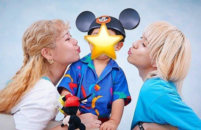 りゅうちぇる・ぺこ・リンクくん息子家族写真2歳_可愛い家族_素敵な家族