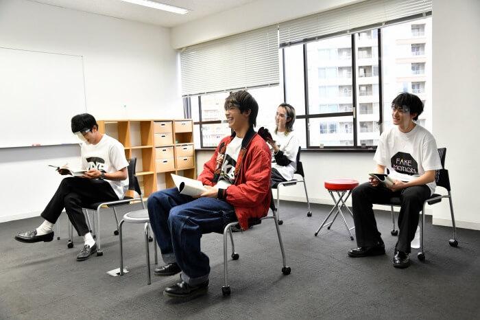 s-FAKE MOTIONオンライン朗読劇オンライン舞台八王子稽古01
