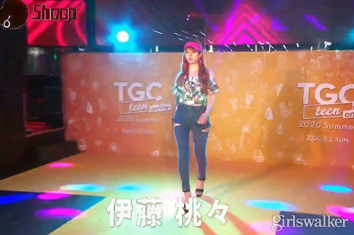 TGC teen 2020 Summer online_伊藤桃々_02