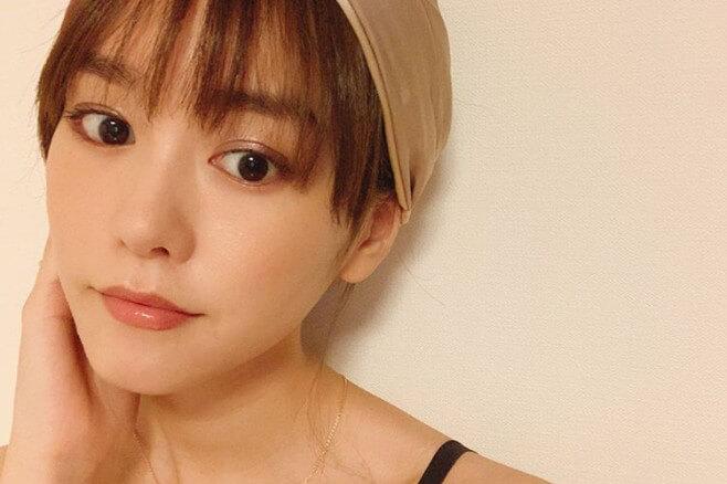 桐谷美玲_セルフメイク_ターバンヘアバンドおうち自宅出産後母の顔