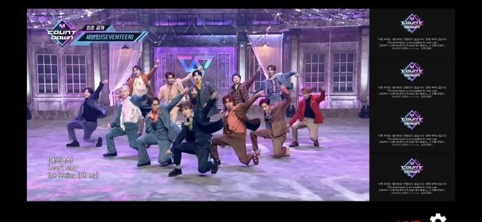 s-SEVENTEEN performance02★_MCOUNTDOWNマルチアングル