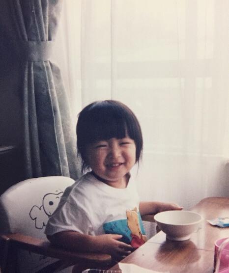 岡崎紗絵_幼少期_子ども写真