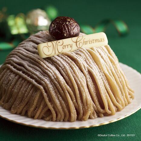 ドトールコーヒー_人気ケーキ_クリスマスケーキ_和栗のモンブラン