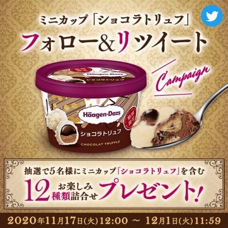 ハーゲンダッツミニカップ ショコラトリュフ 295円(希望小売価格・税抜)