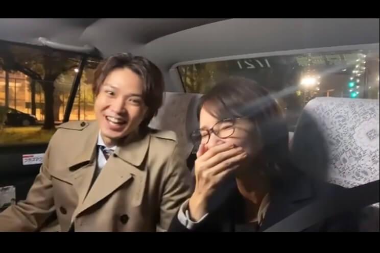 吉田羊_磯村勇斗_タクシー内での笑顔の掛け合いにキュン「微笑ましい」「ラブラブやん」の声殺到