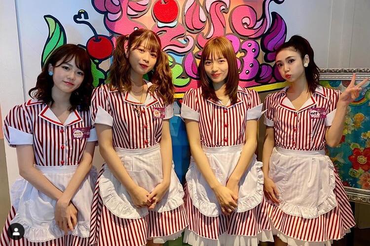 川口春奈、馬場ふみから美女4人組ショットに「顔面偏差値高すぎ」「天使の集い」の声