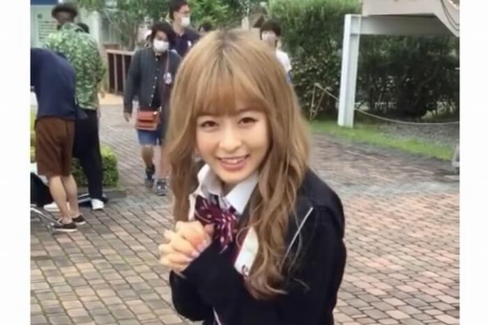 森七菜、金髪の女子高生姿で『天気の子』名セリフを披露「まさかのクロスオーバー」