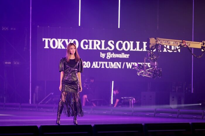 楓東京ガールズコレクション2020AW