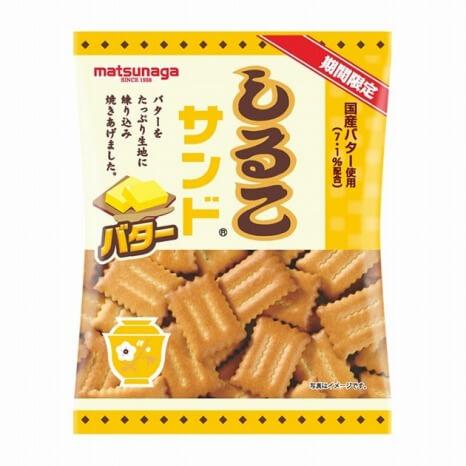 期間限定 しるこサンド バター 150円(参考上代価格・税抜)