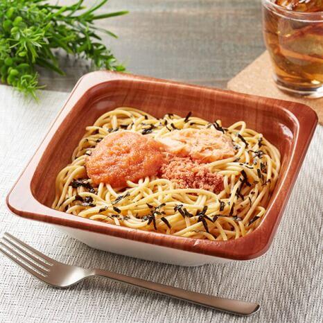 ファミリマート 明太子と鮭のスパゲティ