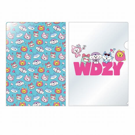 WDZYカフェ_ITZY_クリアファイル 400円(税抜)