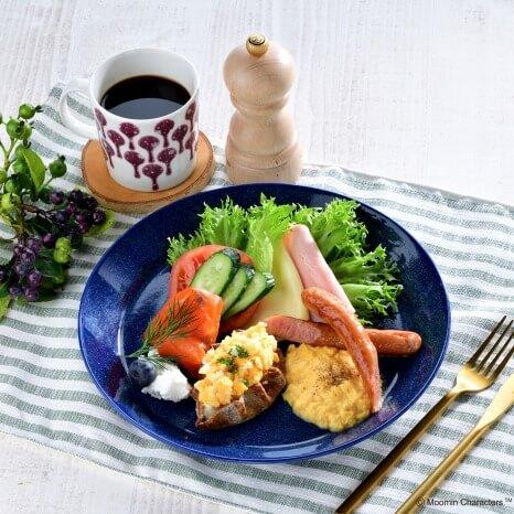 ムーミンカフェ 東京ドームシティ ラクーア店_北欧の朝食プレート 1,500円(税込)