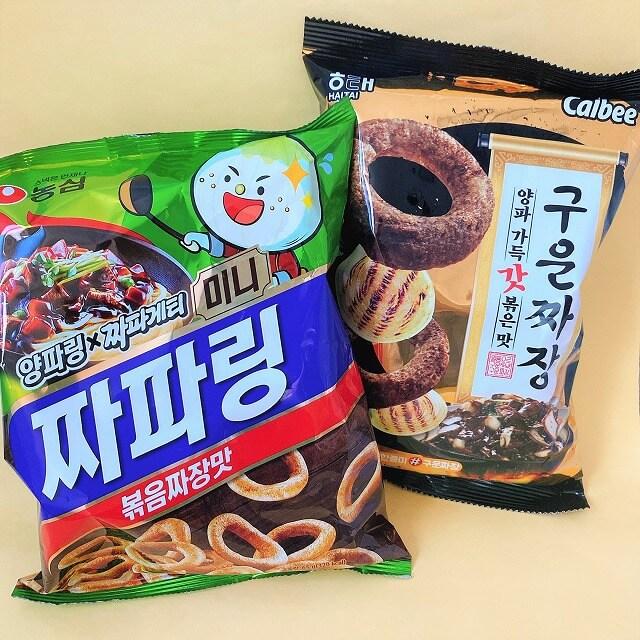 韓国コンビニ_韓国なう_コンビニお菓子_ジャジャン麵