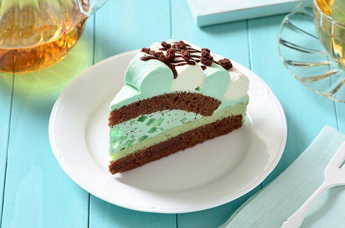 コージーコーナー「チョコミントケーキ」
