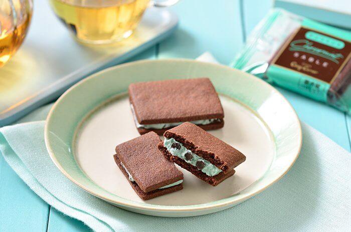 コージーコーナー「チョコミントサブレ」