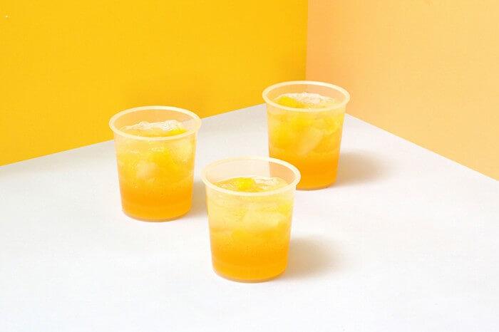 日向夏と柑橘フルーツのなめらかゼリー 1個 432円(税込)