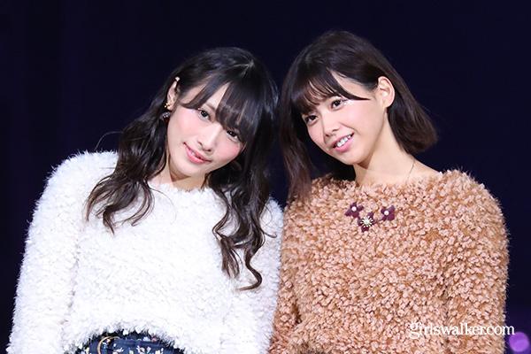 欅坂46の渡辺梨加・渡邉理佐が仲良しランウェイ♪冬のペアコーデにも注目