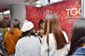 TGC広島2017 八天堂ブース